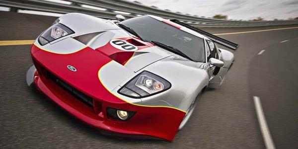 Une Ford GT de compétition pour la route