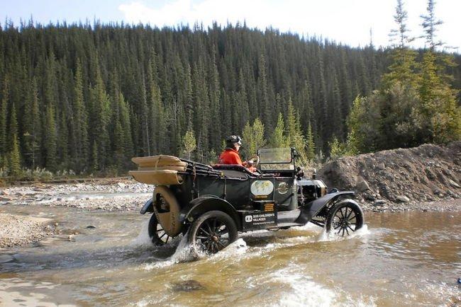L'étonnant périple mondial d'une Ford T de 1915