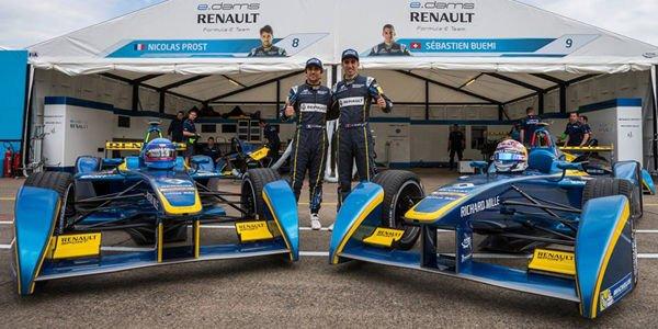 Formula E : e.dams prêt pour la finale londonienne