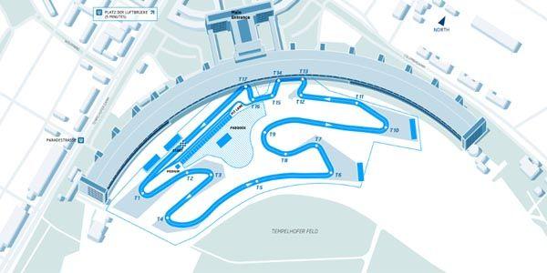 Formula E : le tracé du Berlin ePrix révélé
