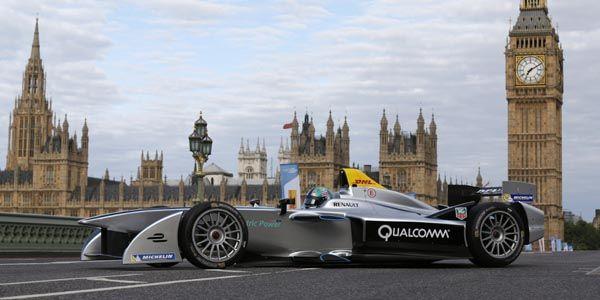 Formula E : une manche à Battersea Park