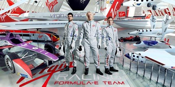 Formula E : Alguersuari et Bird avec Virgin Racing