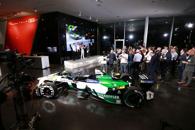 Formule E : Audi dévoile son équipe