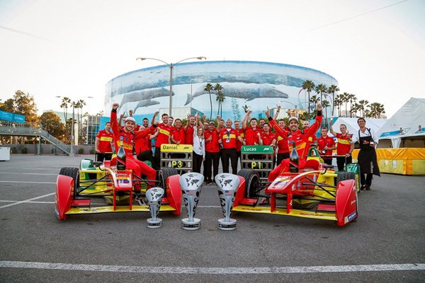 Formula E : Lucas di Grassi vainqueur à Long Beach