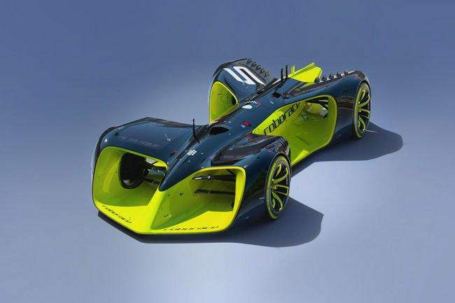 Formula E : la Robocar dévoilée
