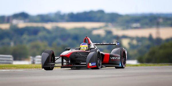 Formula E : le test de Donington en vidéo