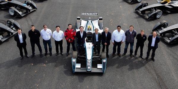 Formula E : les premiers châssis livrés