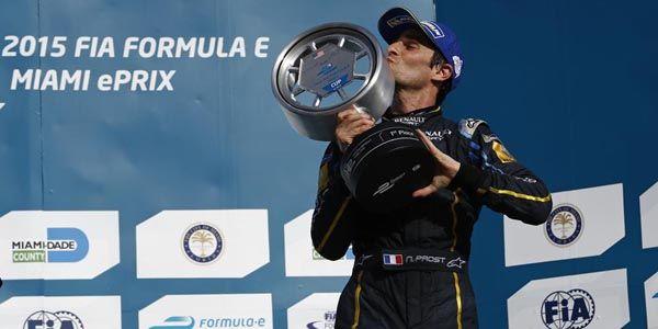 Formula E : carton plein pour Prost et e.dams à Miami