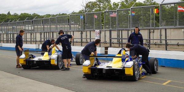 Formula E : chrono record pour di Grassi