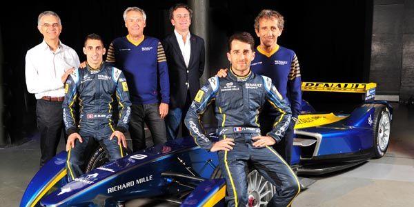 Formula E : Renault partenaire de e.dams