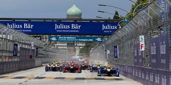 Formula E : coup de chaud pour Renault e.dams en Malaisie
