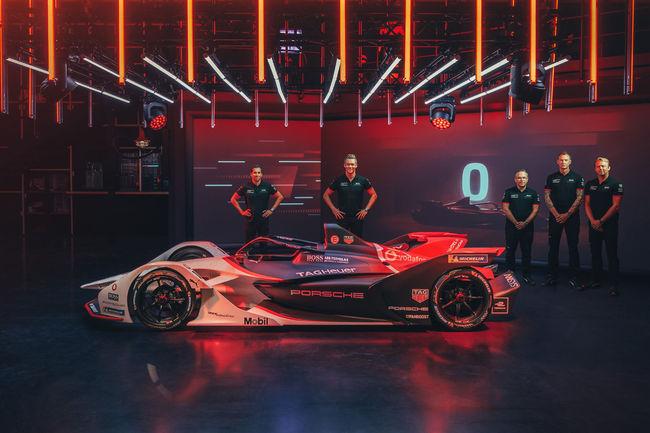 Porsche fait son entrée en Formule E avec la monoplace 99X Electric