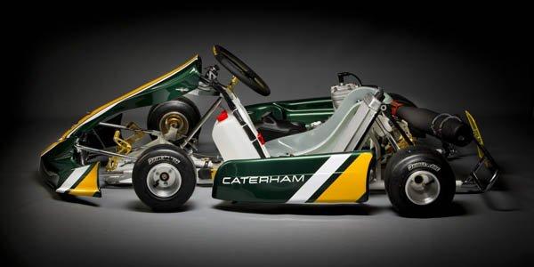 Caterham : un championnat de karting