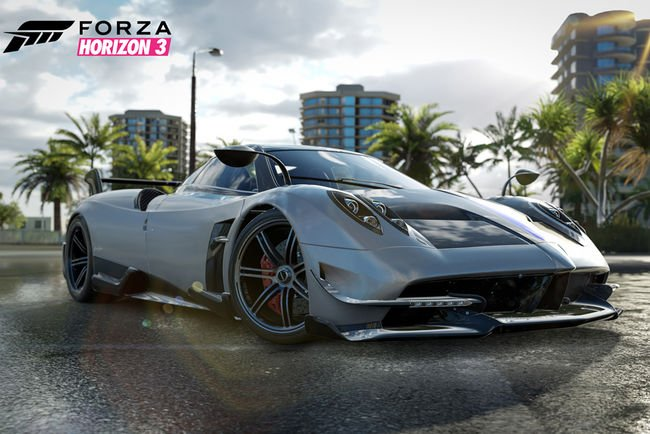 Un DLC Smocking Tire pour Forza Horizon 3