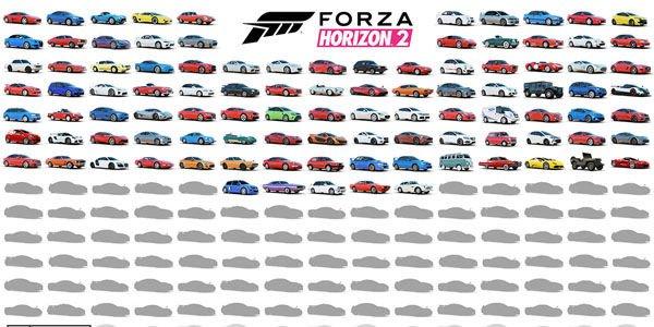 Forza Horizon 2 : les 100 premières voitures dévoilée