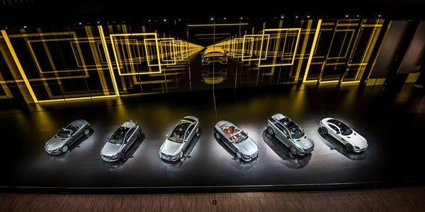Francfort : visite virtuelle du stand Mercedes