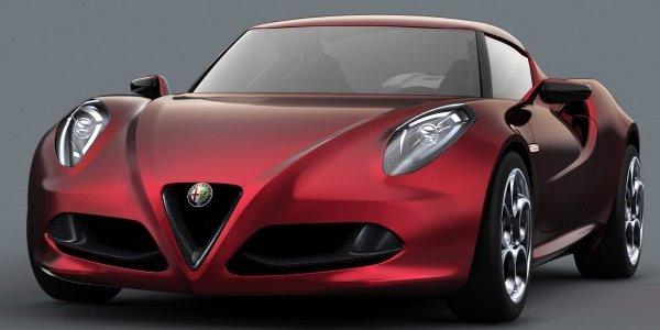 Salon de Francfort : Alfa Roméo 4C