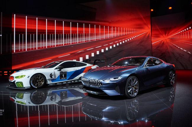 Francfort : BMW dévoile sa M8 GTE