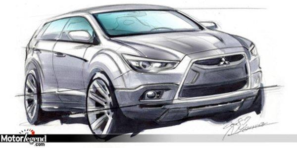 Futur crossover compact Mitsubishi