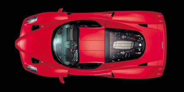 Future supercar Ferrari : à moteur V12