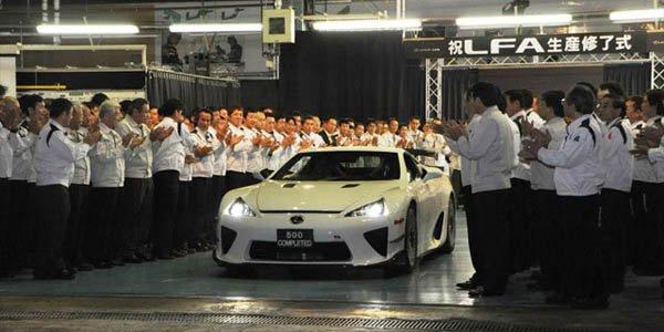Les futurs modèles Lexus en carbone ?