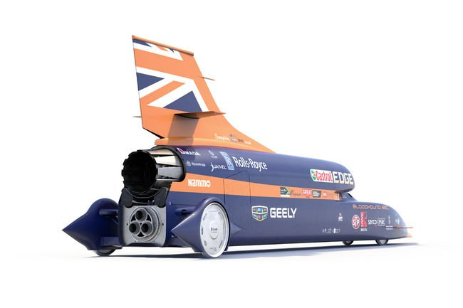 Le Chinois Geely rejoint le projet Bloodhound SSC