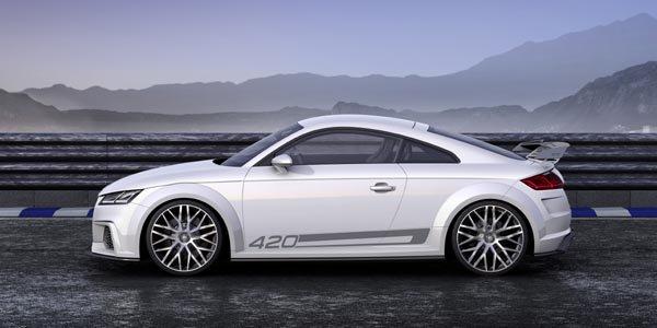 Genève 2014 : Audi TT quattro sport