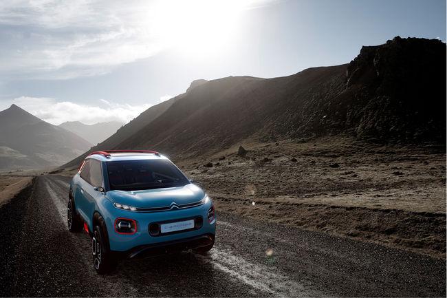 Le Citroën C-Aicross Concept prêt pour Genève