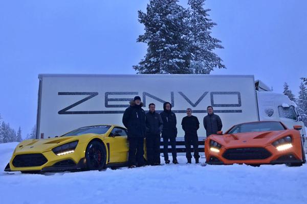 La Zenvo TS1 GT teasée avant Genève
