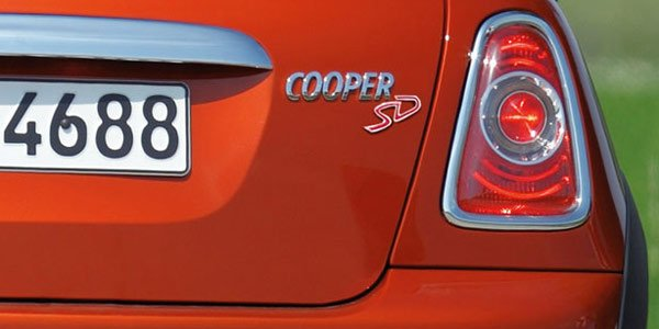 La Mini Cooper SD avant Genève