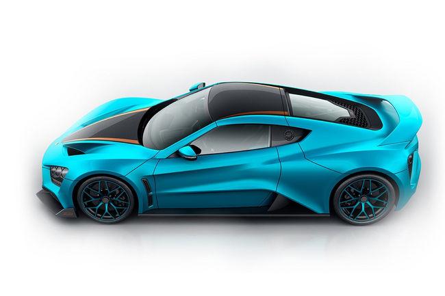 Zenvo présente le one-off TS1 GT à Genève