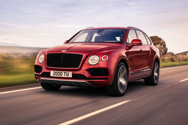 Genève : un nouveau modèle chez Bentley