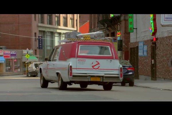 Découvrez l'Ecto-1 de Ghostbusters 3