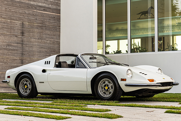 Gooding & Company : trois modèles Ferrari à Scottsdale