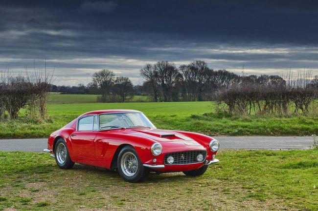 Ferrari s'illustre sur la vente Gooding & Company de Scottsdale