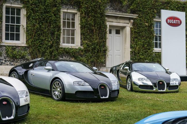 Goodwood : superbe plateau chez Bugatti