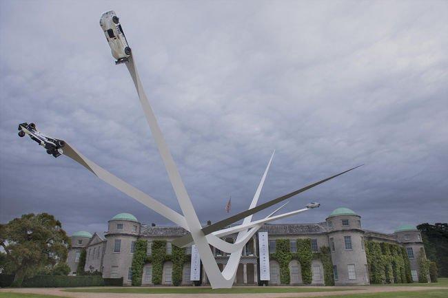 Goodwood : la sculpture centrale révélée