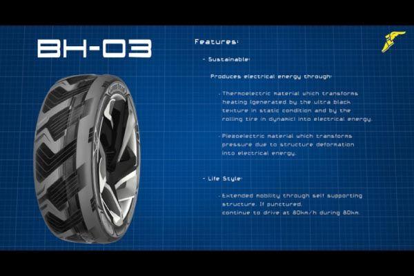 Goodyear BH03 : futur chargeur de batteries ?