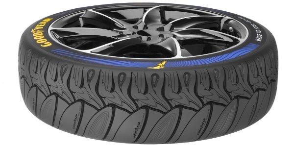 Goodyear lance le pneu design !