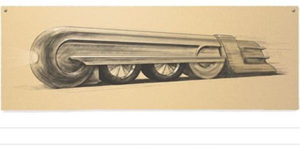 Google rend hommage à Raymond Loewy