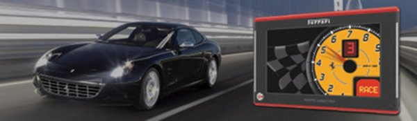 Un GPS Becker signé Ferrari