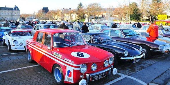 Grande parade automobile à Epernay