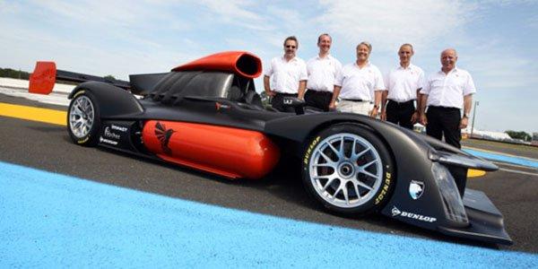 La Green GT H2 au Mans en 2013
