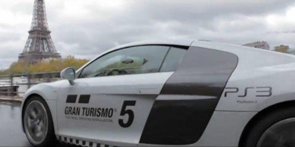 Gran Turismo 5 sur les Champs Elysées