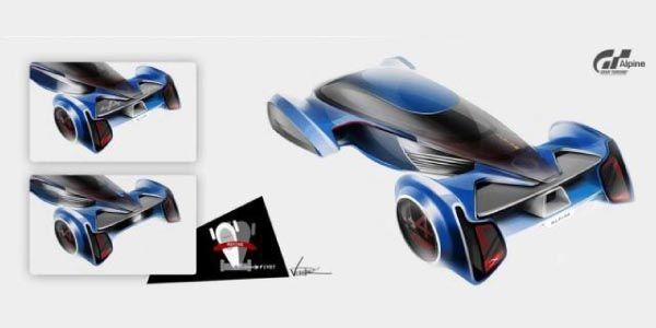 Nouvelle image du concept Alpine pour Gran Turismo 6