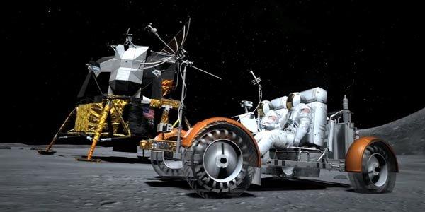 Gran Turismo 6 vous véhicule sur la lune