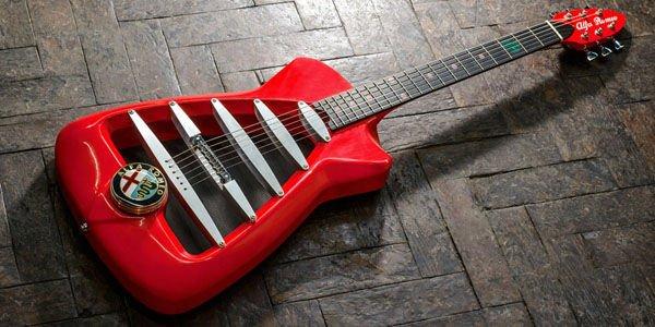 Guitares Alfa Romeo en série limitée