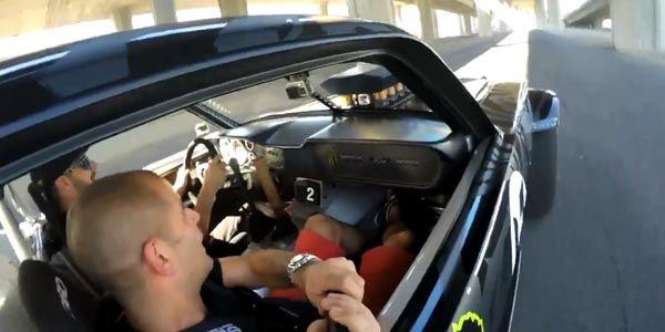 Chris Harris embarque dans la Mustang Hoonicorn RTR
