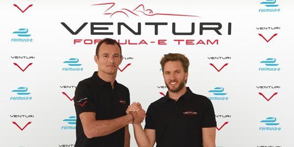 Formula E : Heidfled et Sarrazin avec Venturi