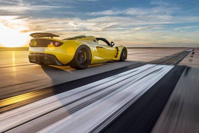 Record mondial pour la Hennessey Venom GT Spyder